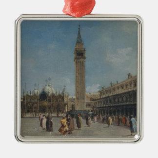 Piazza San Marco Metal Ornament