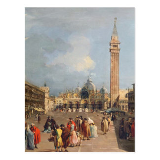 Piazza San Marco, Venice, c.1760 Postcard
