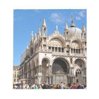 Piazza San Marco, Venice, Italy Notepad