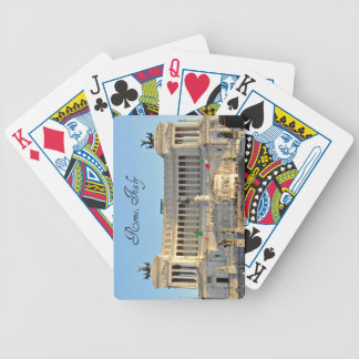 Piazza Venezia, Rome, Italy Bicycle Playing Cards