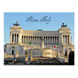 Piazza Venezia, Rome, Italy Postcard
