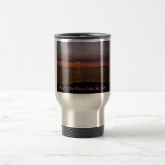 PIB Sunset There s No Place Like the Lake Coffee Mugs