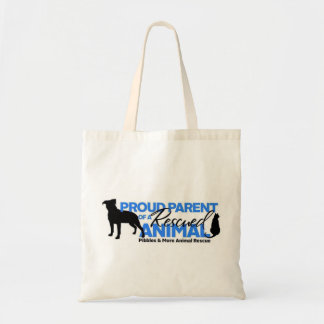 Pibbles & More Animal Rescue Proud Rescue Parent Tote Bag