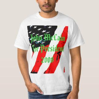 pic033, John McCain For President  2008 Tshirts