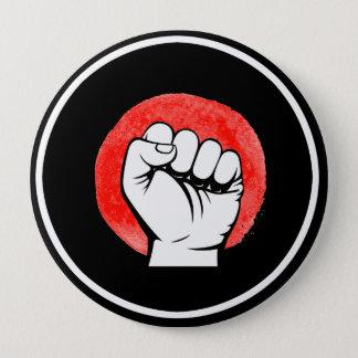 PIC FIST RESIST - 10x10 - 10 Cm Round Badge