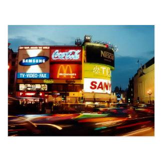 Picadilly Circus - London Postcard