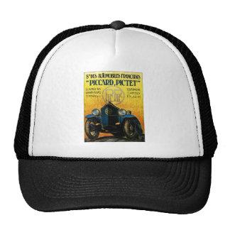 Picard Pictet Vintage Car Advertisement Mesh Hats