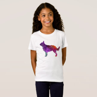 Picardy Sheepdog in watercolor T-Shirt