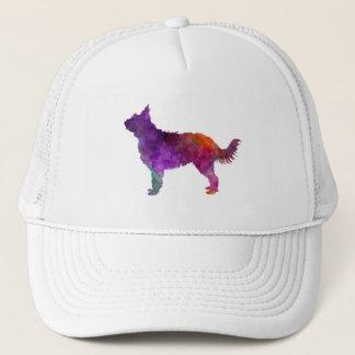 Picardy Sheepdog in watercolor Trucker Hat