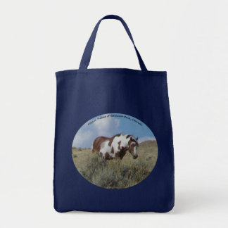 Picasso, a stallion in Sand Wash Basin, Colorado Tote Bag