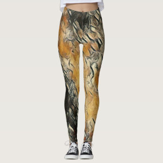 Picasso Artisan Rave Love Leggings