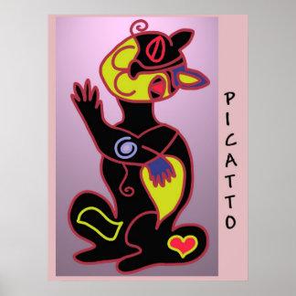 PICATTO in colour Poster