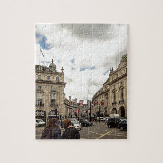 Piccadilly Circus Jigsaw Puzzle
