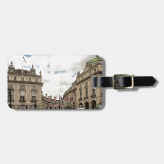 Piccadilly Circus Luggage Tag