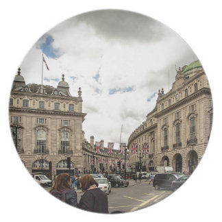 Piccadilly Circus Plate