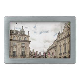 Piccadilly Circus Rectangular Belt Buckles