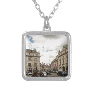 Piccadilly Circus Silver Plated Necklace