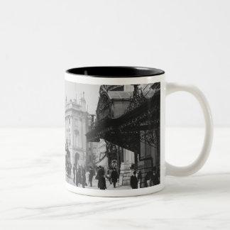 Piccadilly Circus Two-Tone Coffee Mug