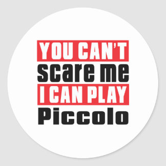 Piccolo Scare Designs Classic Round Sticker
