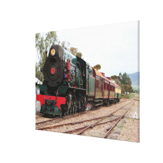 Pichi Richi Railway Steam locomotive 2 Canvas Print