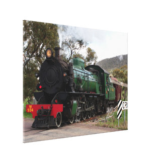 Pichi Richi Railway Steam Locomotive Canvas Print