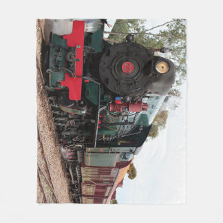 Pichi Richi steam train Fleece Blanket