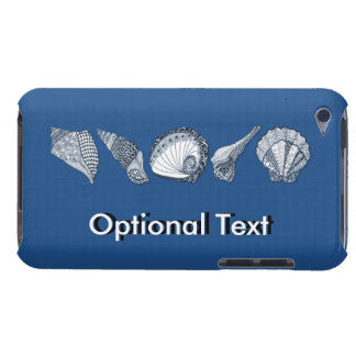 Pick A Color Hand Drawn Seashells iPod Touch Case-Mate Case