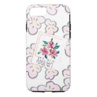 Pick a Happy Hawaiian Pink Floral iPhone 8/7 Case