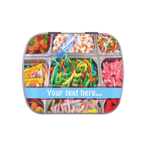Pick and Mix Candy Tin