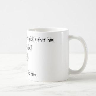 Pick Husband or Racquetball Coffee Mug