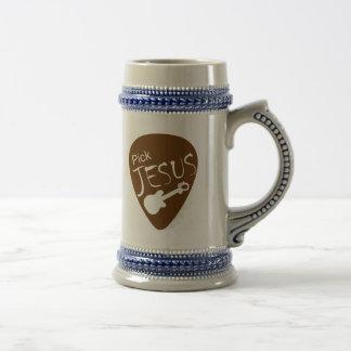 Pick Jesus Large Mug