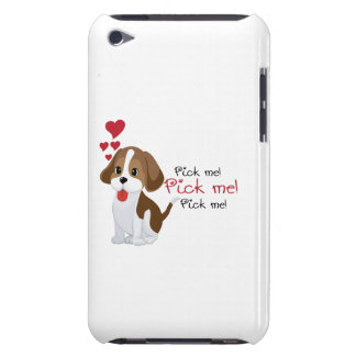 Pick me - cute puppy iPod touch cases