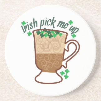 Pick Me Up Drink Coasters