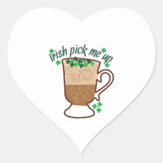 Pick Me Up Heart Sticker