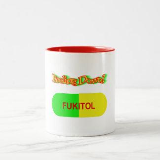 Pick me up Two-Tone coffee mug