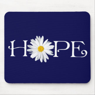 Pick Own Background - Shasta Daisy Hope Mousepad