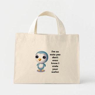 Pick pocketer penguin bag