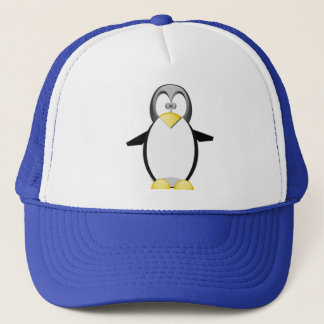 Pick Up A Penquin Trucker Hat