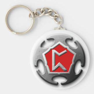 Pick Up Artists Unite Basic Round Button Key Ring