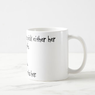 Pick Wife or Roofs Mug
