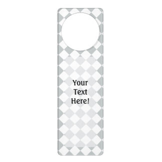 Pick your checkers color Easily Customize This Door Hangers