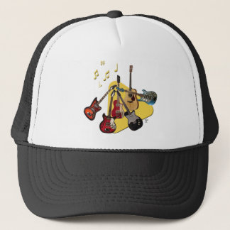 Pick Your Guitar Trucker Hat