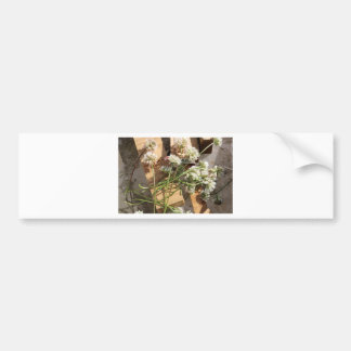 Picked Spring Flowers Bumper Sticker