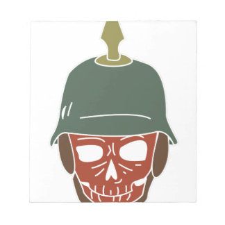 Pickelhaube Helmet Notepad