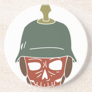 Pickelhaube Helmet Sandstone Coaster