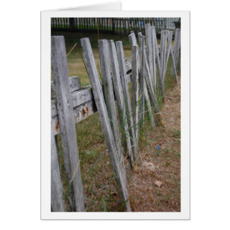 Picket Fence 1 Card