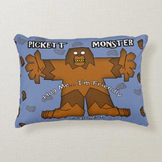 PICKETT MONSTER - Hug Me...I'm Friendly Decorative Cushion