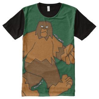 PICKETT MONSTER - Patterson-Gimlin All-Over Print T-Shirt