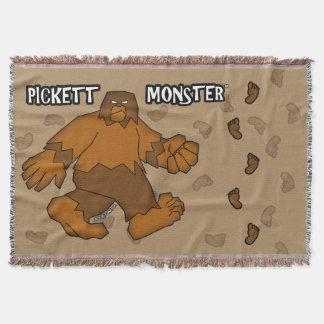 PICKETT MONSTER - Patterson-Gimlin Throw Blanket