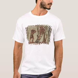 Picking Fruit, Roman Mosaic T-Shirt